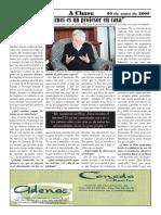 Entrevista de hechos (temática). Maria Amelia López Soliño. A Chave 2008