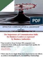 Effective Communication & Leadership