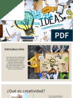 Tecnicas de Creatividad Para El Desarrollo de Nuevos