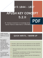 APUSH - Concept - 5.2.II - 2016 - Harding