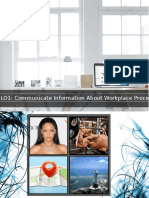 LO1 - Communicate Information About Workplace