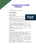 Analisis de La Obra Literaria Ladron de Ovejas