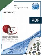 Warewashing Equipment LAMBER