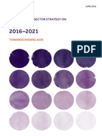 GLOBAL HEALTH SECTOR STRATEGY ON HIV 2016–2021 TOWARDS ENDING AIDS