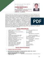 Cv Carlos Enrique Triveño Valenza (Diciembre 2015)