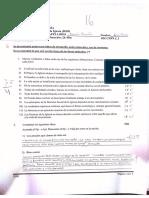 Doctrina Social de la Inglesia Examen Final 2016-I