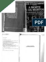 Jose de Souza Martins - A Morte e Os Mortos