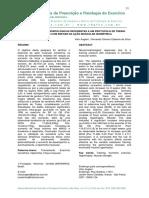 Respostas Neuromorfológicas Referentes a Um Protocolo de Treino Resistido Com Ênfase Na Ação Muscular Isométrica