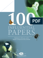 100influential Papers in Ecology