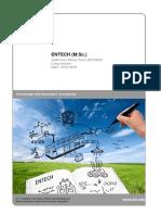 MSc-EnTECH Module Handbook 2015-2016