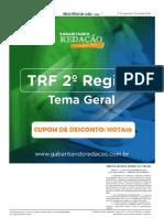TRF 2ª - Edital Completo DOU