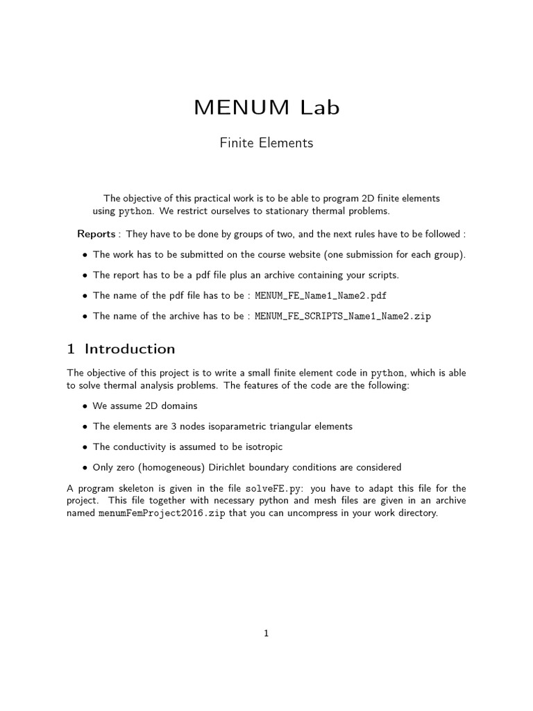 finiteElementLab15-16 | Boundary Value Problem (12 views)