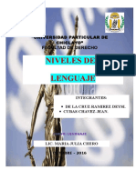 Monografia - Niveles-De-lengua - Copia