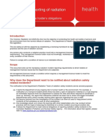 Mandatory Reporting of Radiation Incidents - PDF