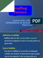 Staffing Pattern
