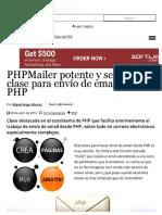 PHPMailer Potente y Senc...Nvío de Email Desde PHP