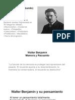 Walter Benjamin, (El Pensador Vagabundo