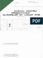 Indrumator Pentru Proiectarea Cladirilor de Locuit P+1- Plansee