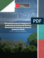 Lineamientos de Compensación Ambiental