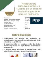 Proyecto N_ 1 - Soporte Horizontal Giratorio Para Polipasto