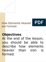How Elements Heavier Than Iron Are Formed ppt  for grade 11 (SHS Physical Science)