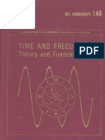 Time and Frequency Theory and Fundamentals