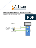 Direct Storage Access Using NetApp SnapDrive v1.2