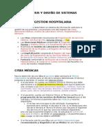 Analisis y Diseño de Sistemas (Problema y Requisitos)