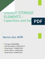 PPT Energy Element Dan First Order Circuit