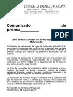 cp100618 represión arilagos