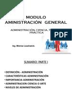 Administración Ciencia Teoría y Práctica