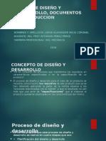 Etapa de Diseño y Desarrollo, Documentos De