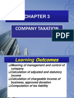 Chapter 3-Company Taxation
