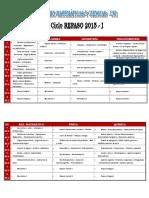 Temario Mate y Ciencias 2015-1 Repaso