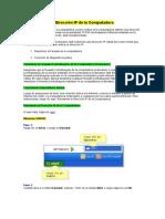 Cómo Revisar La Dirección IP de La Computadora1