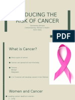 cancer risks womens health
