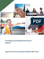 Appraisal Handbook - NHS 16-17