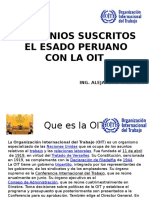 Convenios ratificados por Peru a la OIT