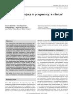Acute Kidney Injury in Pregnancy