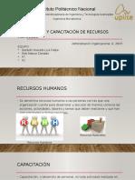 Preparación y Capacitación de Recursos Humanos