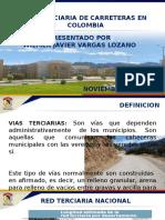 Vias Terciarias en Colombia