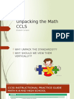 unpacking the math ccls