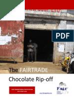 The Fairtrade Chocolate Ripoff