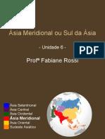 GEOGRAFIA GERAL - Ásia Meridional