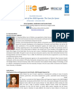 Pdf01.12.2016_Case 4 Space_List of Speakers Moderators Session Leads_29 November 2016