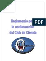 reglamento para la conformación del club de ciencia