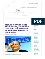 Harvey Norman & Slovenian Australian Chamber of Commerce