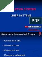 Sistemas de Packers y Cañeria de Revestimiemto Liner