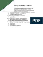 Cuestionario Sobre Mercado y Comercio (1)