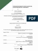 Internet-enabled integrated presentation system for site remediation preliminary assessment